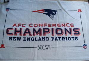 New England Patriots 24x16 AFC Champion Towel. Nice...