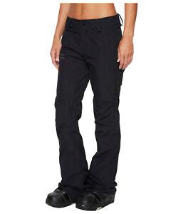 Volcom Knox Gore-Tex Womens Snowboard Snow Ski Slim FIt Pants Black Medium XL