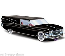 Gothic Halloween BLACK Cadillac HEARSE CENTERPIECE Party Decoration PARTY FAVOR