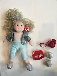 TY Beanie Boppers Sassy Star with Extra Accessories