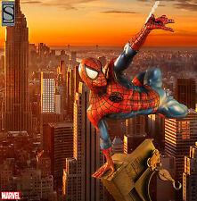 SIDESHOW EXCLUSIVE SPIDER-MAN PREMIUM FORMAT Figure Statue MARVEL Bust Venom