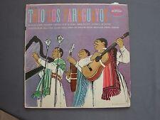 """LP 12"""" 33 rpm 19?? TRIO LOS PARAGUAYOS - LN 3189 USA"""