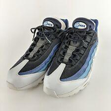 "NIKE Air Max 95 Essential ""Reverse Stash"" Blue Gray Silver 749766-026 Size 12"