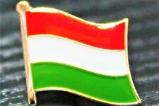 HUNGARY Hungarian Metal Flag Lapel Pin Badge *NEW*
