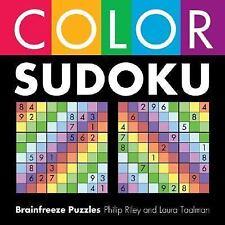 Color Sudoku Puzzlebook