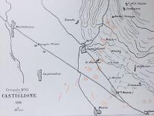 Bataille de Castigione 1796 Armée d'Italie Solférino Montechiaro Astore Medole