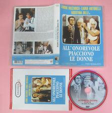 DVD film ALL'ONOREVOLE PIACCIONO LE DONNE Laura Antonelli Buzzanca no vhs (D9)