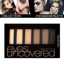 Collection Cosmetic Eyes Uncovered Highly Pigmented EyeShadow Palette Shade Nude