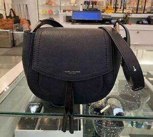Marc Jacobs  Maverick Saddle  Bag Leather $350 NWT -BLACK