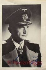 New Art Print WWII Signed Photo 8 X 10 German Karl Donitz Navy Commander