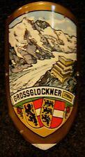 Grossglockner used badge mount stocknagel hiking medallion G5823