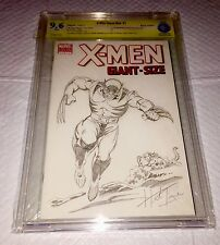 ORIGINAL ART BY HERB TRIMPE HULK 181 Pin Up -on X-Men Giant Size #1 Blank Cover