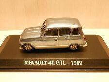 Renault 4 GTL 1/43 Gamme Norev collection boîte blanche réf 510 001