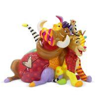 Romero Britto Disney The Lion King Simba Timon And Pumba Figurine 6006084 New