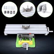 Mini Cross Slide Bench Vise Drill Fixture Work Table Cnc Milling Machine New