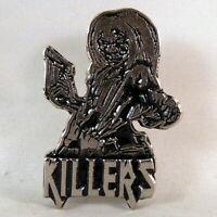 IRON MAIDEN Killers Band Logo (Pin Badge) (NEW)