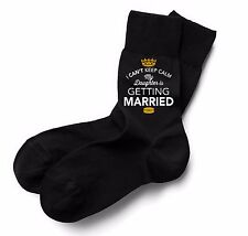 Daughter is Getting Married Socks Wedding Keepsake Gift Stag Party Present Him