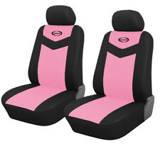 Front Seat Car Seat Covers - Pink For Honda Civic 2006 - 2019