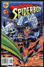 Spider-Boy #1 Amalgam Comics 1996 Marvel DC Spider-Man Superboy 9.2 Near Mint-