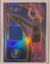 2019-20 Panini Select Basketball Dirk Nowitzki Purple Prizm Patch Card /99