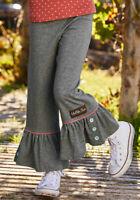 Matilda Jane Imagine That Big Ruffles Girls Size 4 6 8 10 New In Bag Gray Pants