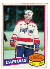 1X MIKE GARTNER 1980 81 O Pee Chee #195 RC Rookie VG- OPC Capitals