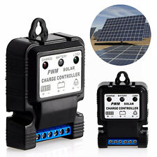 6V 12V 10A Auto Solar Panel Charge Controller Battery Charger Regulator PWM TOP