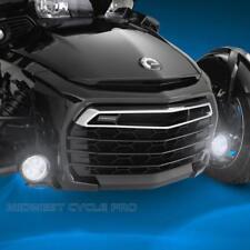 Can Am Spyder F3 Black Focus LED Driving Light Kit by Show Chrome (41-302LBK)