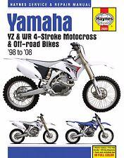 HAYNES MANUAL YAMAHA YZ250F 2001-08, YZ400F 1998-99, YZ426 2000-02, YZ450F 03-08