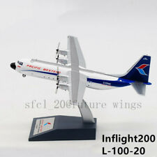 1:200 InFlight200 Pacific Western Lockheed L-100 C-FPWK With Stand IF130PW1117