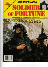 Soldier of Fortune Magazine- U.S. Wins in Panama!- April 1990
