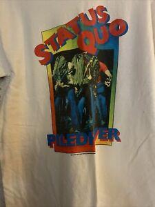 Status Quo T Shirt Large Size