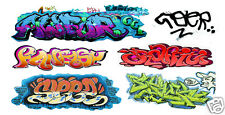 HO Scale Custom Graffiti Decals #42 - Weather Your Box Cars, Hoppers, & Gondolas