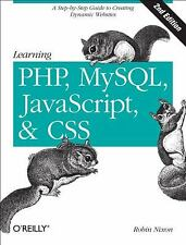 Learning PHP, MySQL, Javascript, and CSS : A Step-by-Step Guide to Creating...