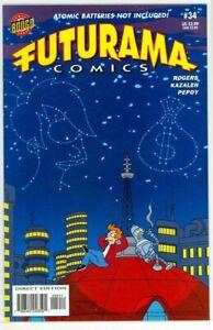 FUTURAMA #34 Simpsons Matt Groening (2007) Bongo Comics NM+  (9.6)