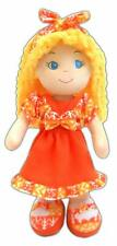 girlzndollz Cameron Cute Baby Doll, Yellow/Orange