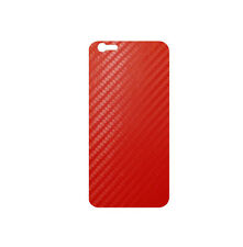 707 Skins BACK Wrap For Apple iPhone 6S PLUS  Cover Decal Sticker - RED CARBON
