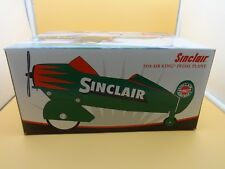 Crown Premiums Sinclair Oil Green Gendron 1940 Air King Pedal Plane - w/ box