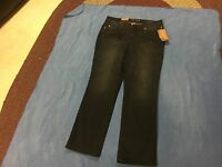 Sonoma Women's NWT Black Modern Fit Straight Jeans. Size 12 Short  FREE SHIPPING