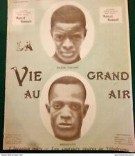 1903  MAJOR TAYLOR - HEDSPATH - CYCLISTES AMERICAIN - LA VIE AU GRAND AIR