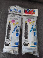 EZ-POUR Replacement Spout - Water Jug Or Gas Can Spout and vent kit 2 kits
