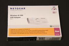 Netgear Wireless-N 300 USB Adapter WN111-1VCNAS Open Box