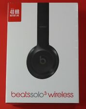 Beats by Dr. Dre Solo 3 Wireless On Ear Headphones Headband - Gloss Black NEW