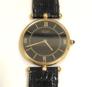 Van Cleef & Arpels Piaget Dress 18k Yellow Gold Automatic 30mm Vintage Watch