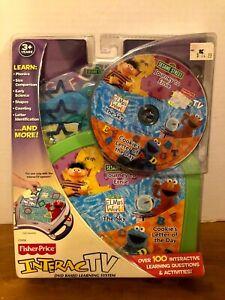 New Fisher Price Sesame Street Journey to Ernie InteracTV DVD NEW SEALED