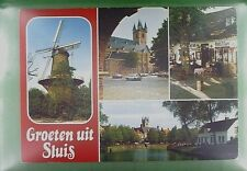 CPA Holland Sluis Windmill Moulin Molen Windmühle Molino Mill Wiatrak w389