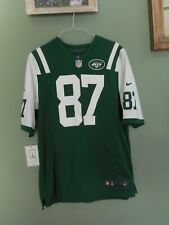 2ea6fad195a98 NFL New York Jets  87 Eric Decker Nike Green On Field Jersey Size Large