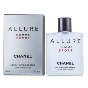 NEW Chanel Allure Homme Sport After Shave Splash 100ml Perfume