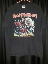 2007 Iron Maiden Holdings Vintage Rock    t shirt