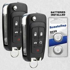 2 For 2010 2011 2012 2013 2014 2015 2016 Chevrolet Camaro Malibu Remote Key Fob